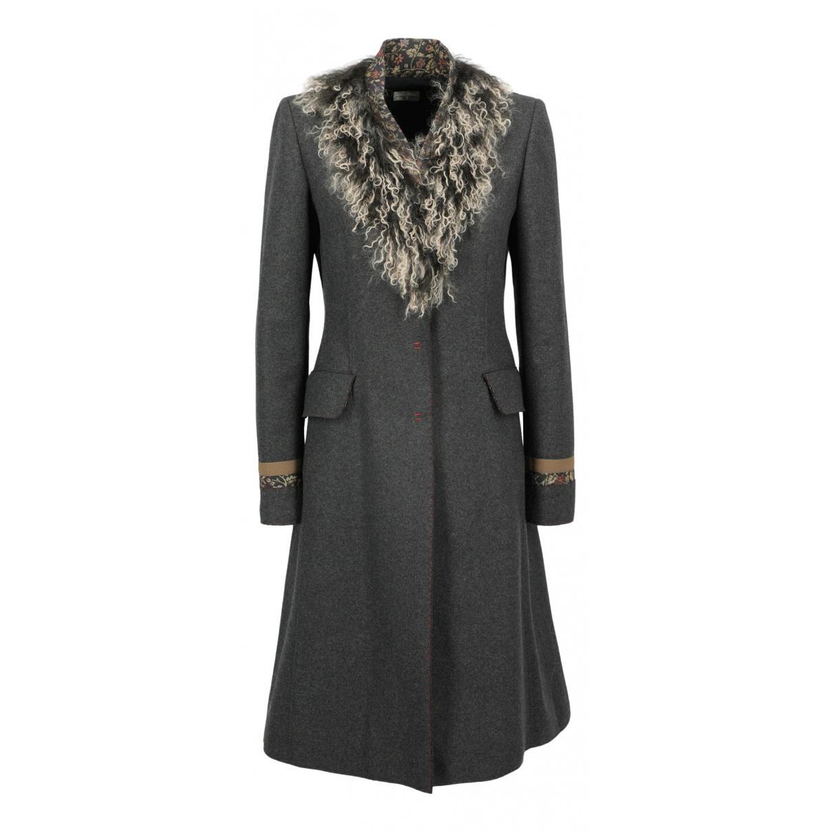 Philosophy H1h2 \N Beige Wool coat for Women 46 IT