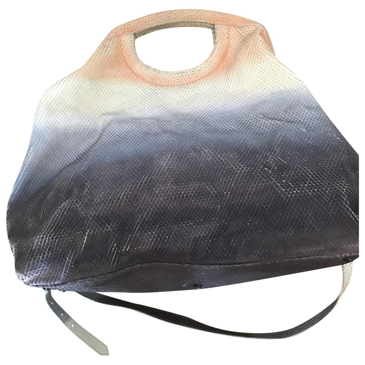 Iceberg \N Multicolour Leather handbag for Women \N