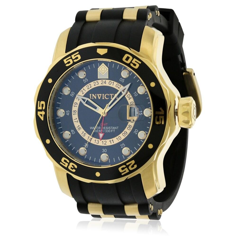 Invicta Mens Pro Diver 6991 Gold Watch