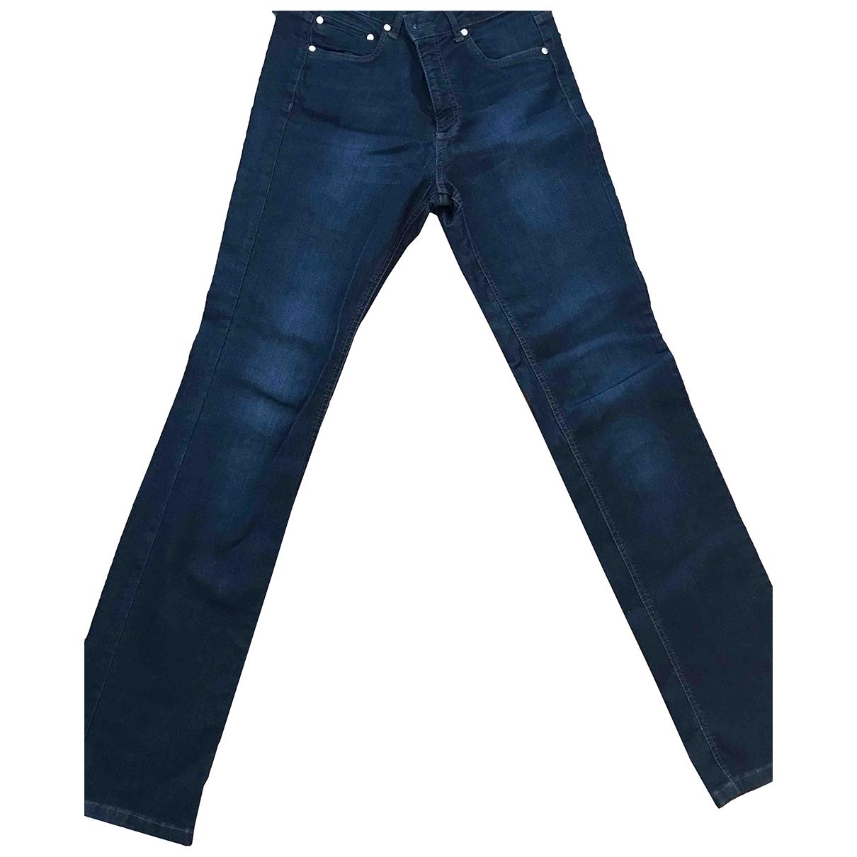 Roberto Cavalli \N Blue Denim - Jeans Jeans for Women 28 US