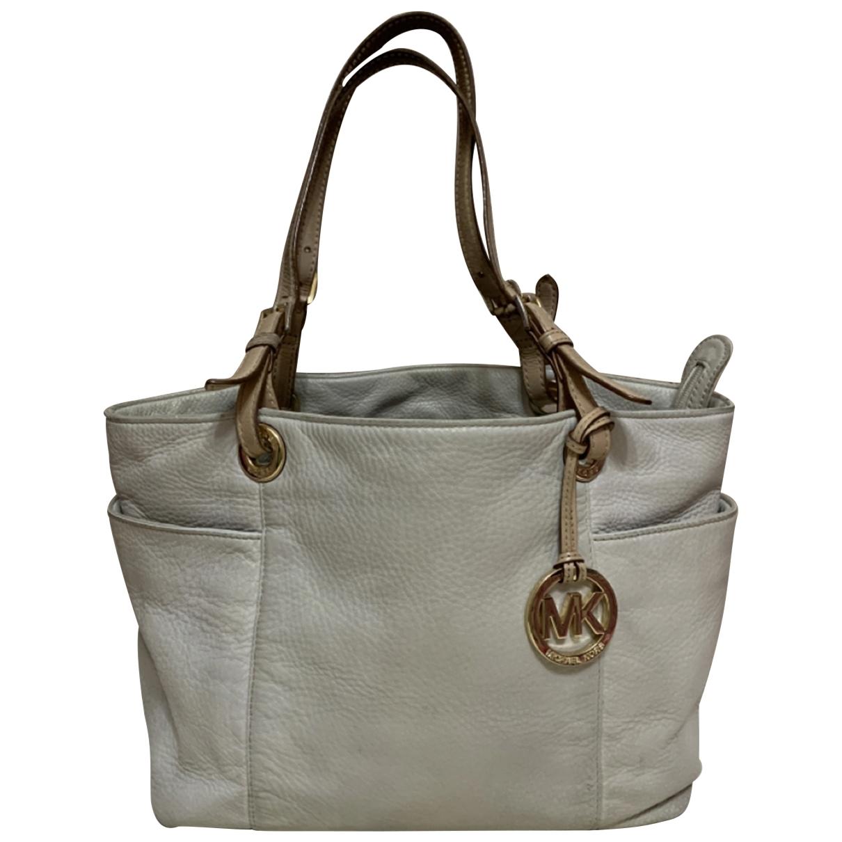 Michael Kors \N Grey Leather handbag for Women \N