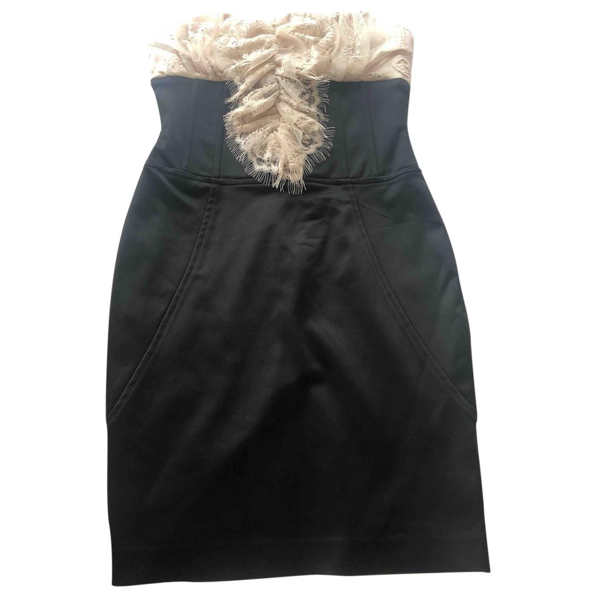 Le Bebe \N Kleid in  Schwarz Baumwolle - Elasthan