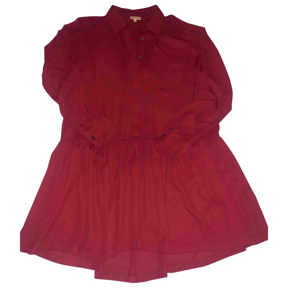 Parosh \N Kleid in  Bordeauxrot Polyester