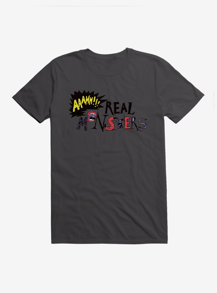 Aaahh!!! Real Monsters Logo T-Shirt