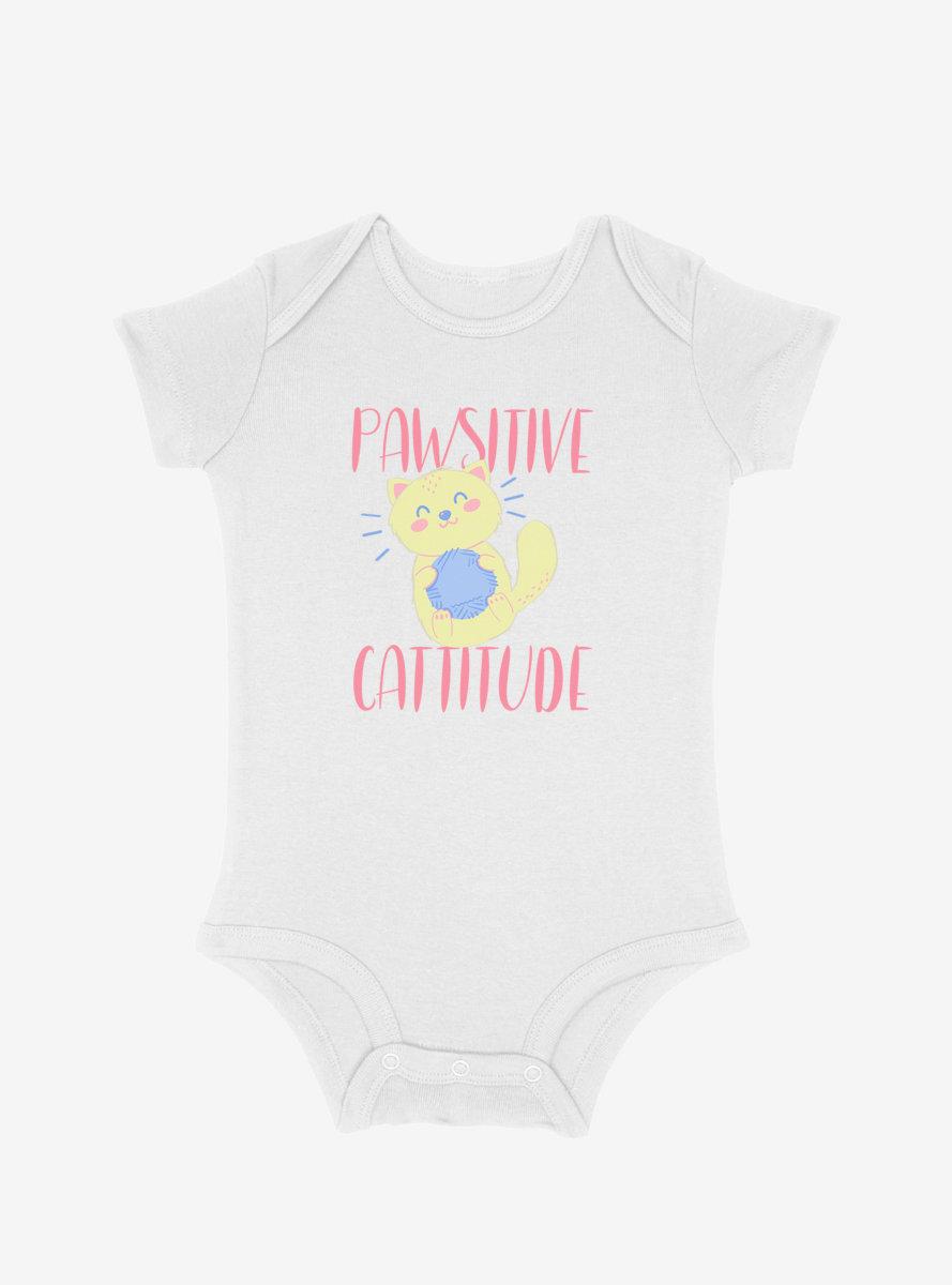 Pawsitive Catitude Infant Bodysuit