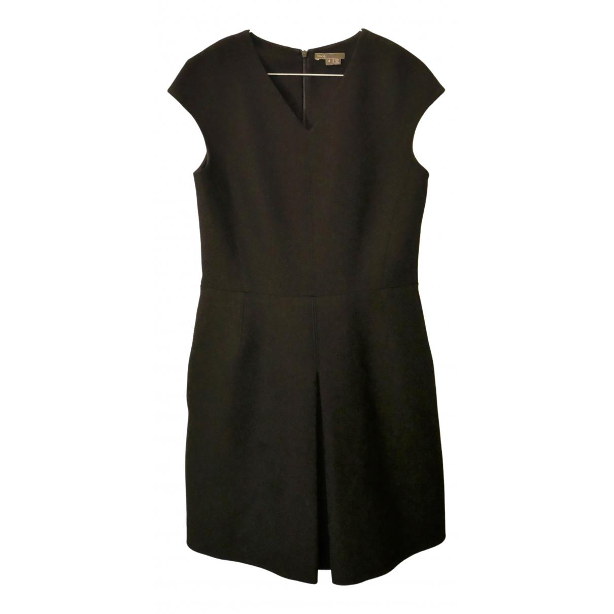 Vince \N Kleid in  Schwarz Polyester