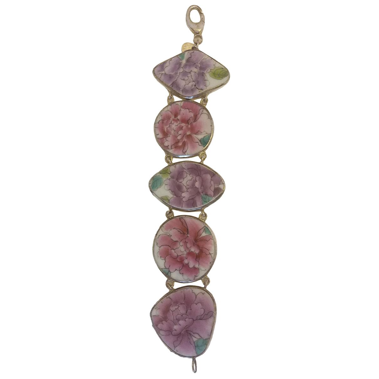 - Bracelet   pour femme en ceramique - violet
