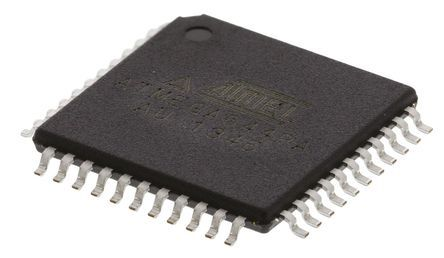 Microchip ATMEGA644PA-AU, 8bit AVR Microcontroller, ATmega, 20MHz, 64 kB Flash, 44-Pin TQFP