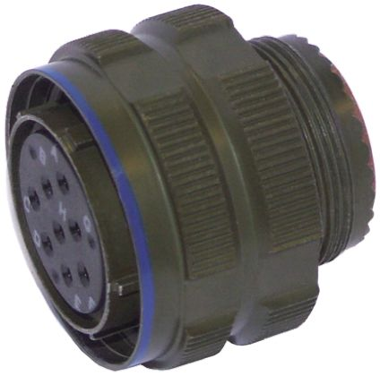 AB Connectors , ABAC 13 Way Cable Mount MIL Spec Circular Connector Plug, Socket Contacts,Shell Size 11, Screw Coupling,