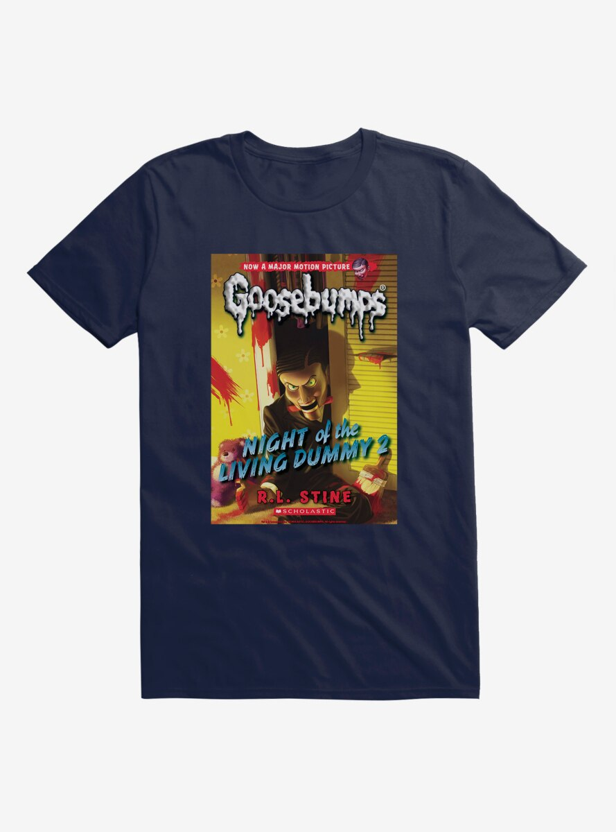 Goosebumps Night Of The Living Dummy 2 Book T-Shirt