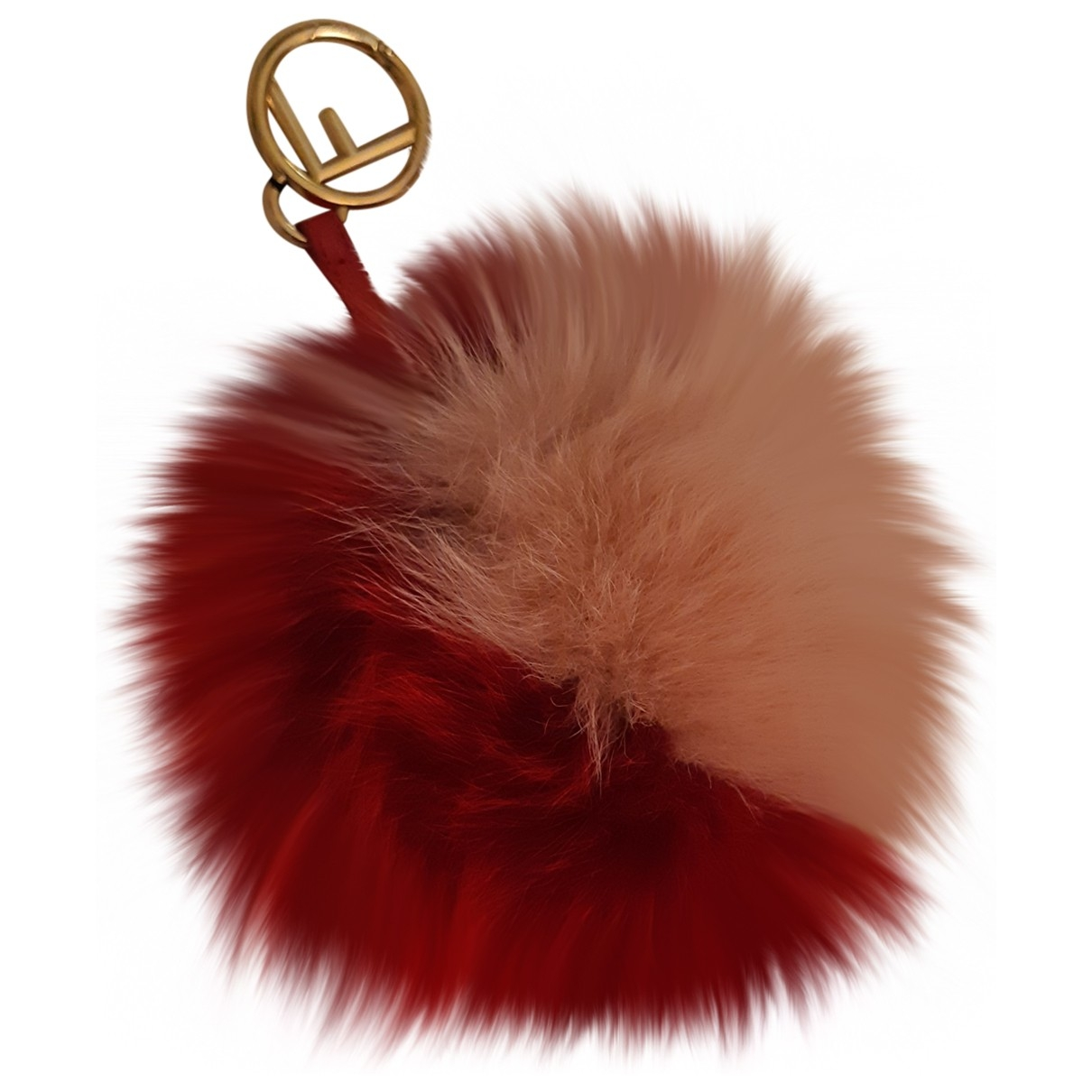 Fendi Pompon Red Fox Bag charms for Women \N