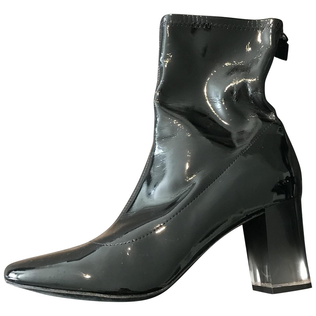Botines de Charol Zara