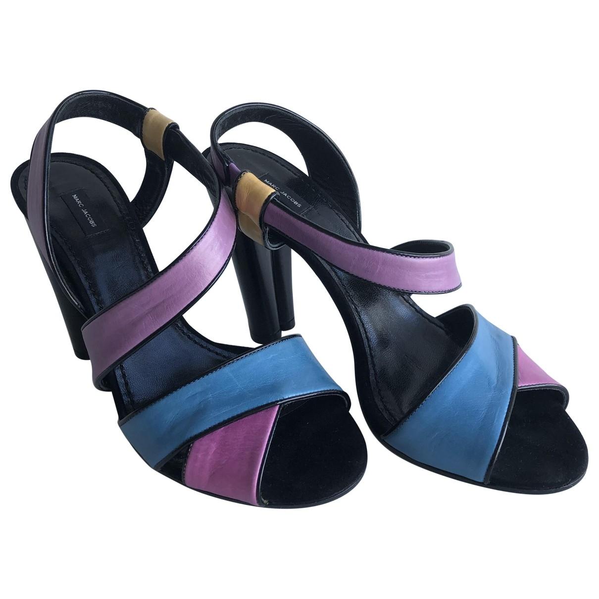Marc Jacobs - Escarpins   pour femme en cuir - multicolore