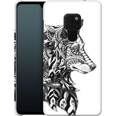Huawei Mate 20 Smartphone Huelle - Wolf Profile von BIOWORKZ