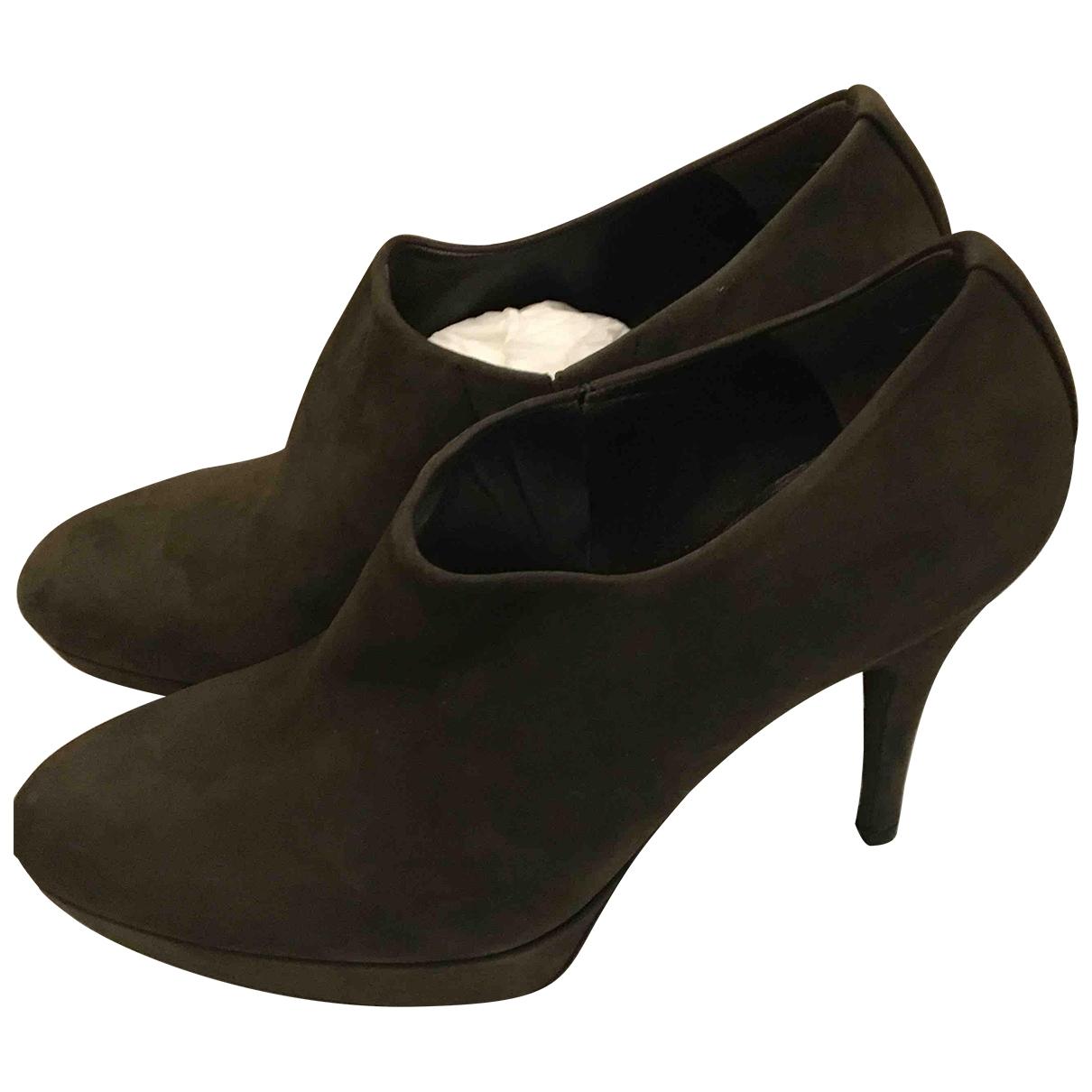 Stuart Weitzman \N Suede Ankle boots for Women 38.5 EU
