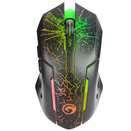 Marvo M207 Wired Optical Gamimg Mouse, 7-Color Backlight, 3200DPI