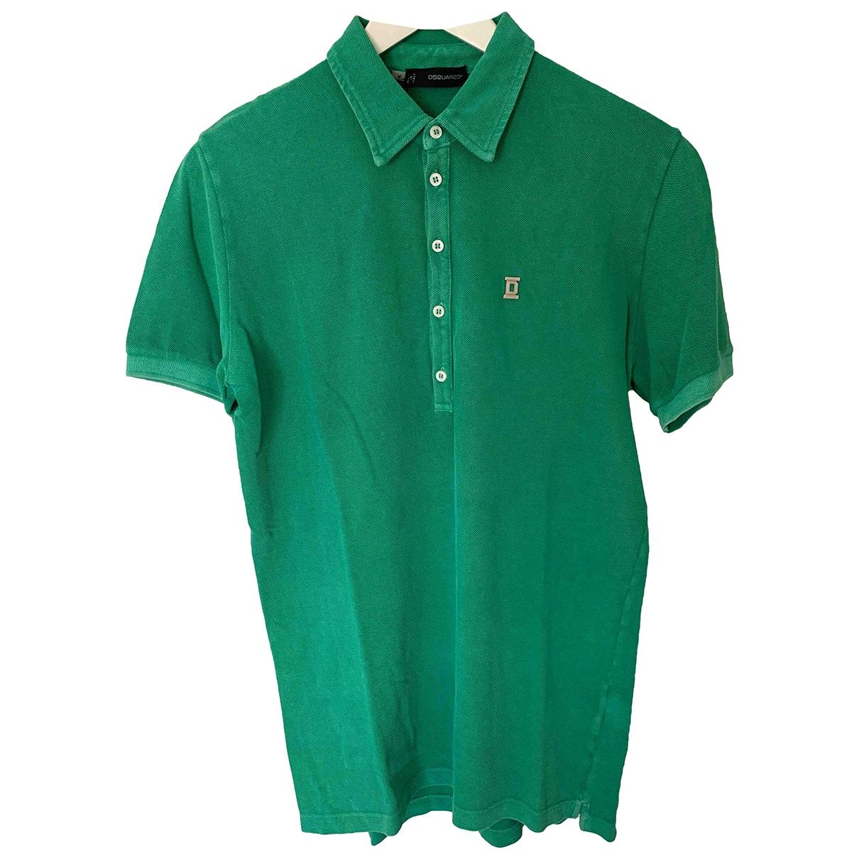 Dsquared2 \N Poloshirts in  Gruen Baumwolle