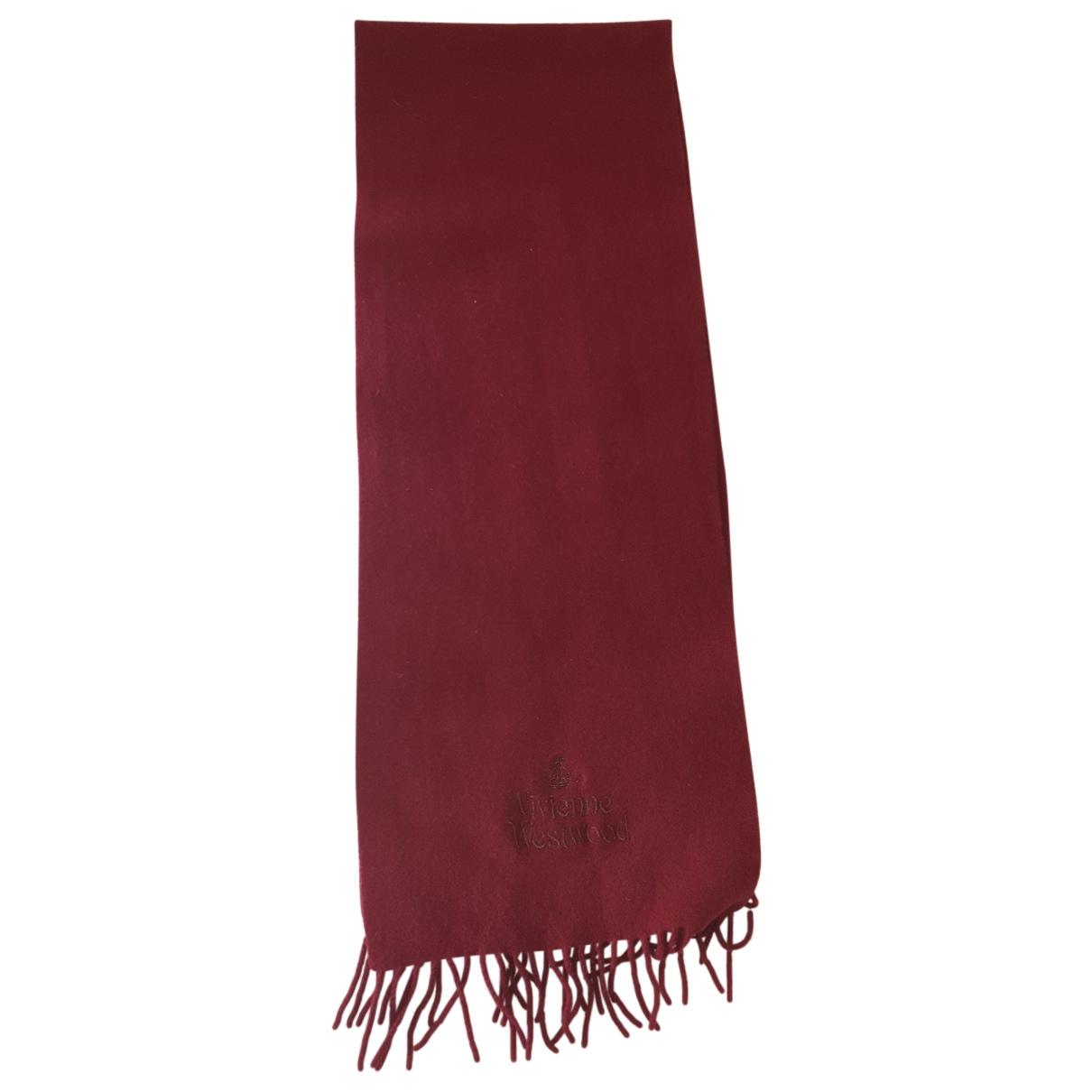 Vivienne Westwood \N Schal in  Bordeauxrot Wolle