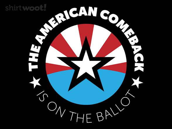 The American Comeback T Shirt