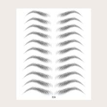 11 Paare Bionic Augenbrauenaufkleber