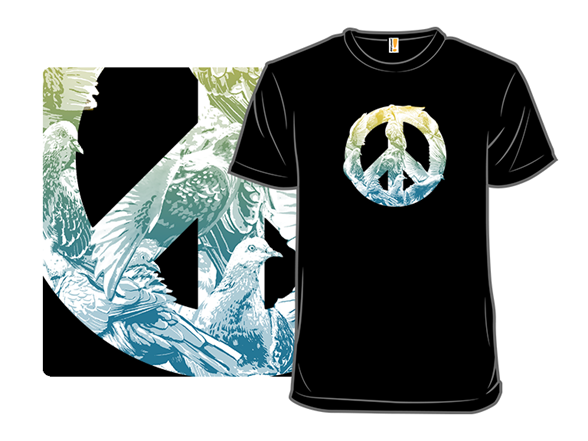 Pigeons For Peace T Shirt