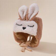 Sombrero de bebe con estampado de dibujos animados