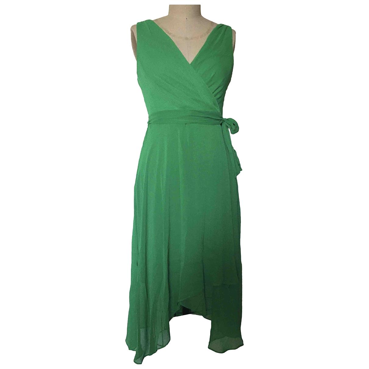 Dkny \N Kleid in  Gruen Polyester