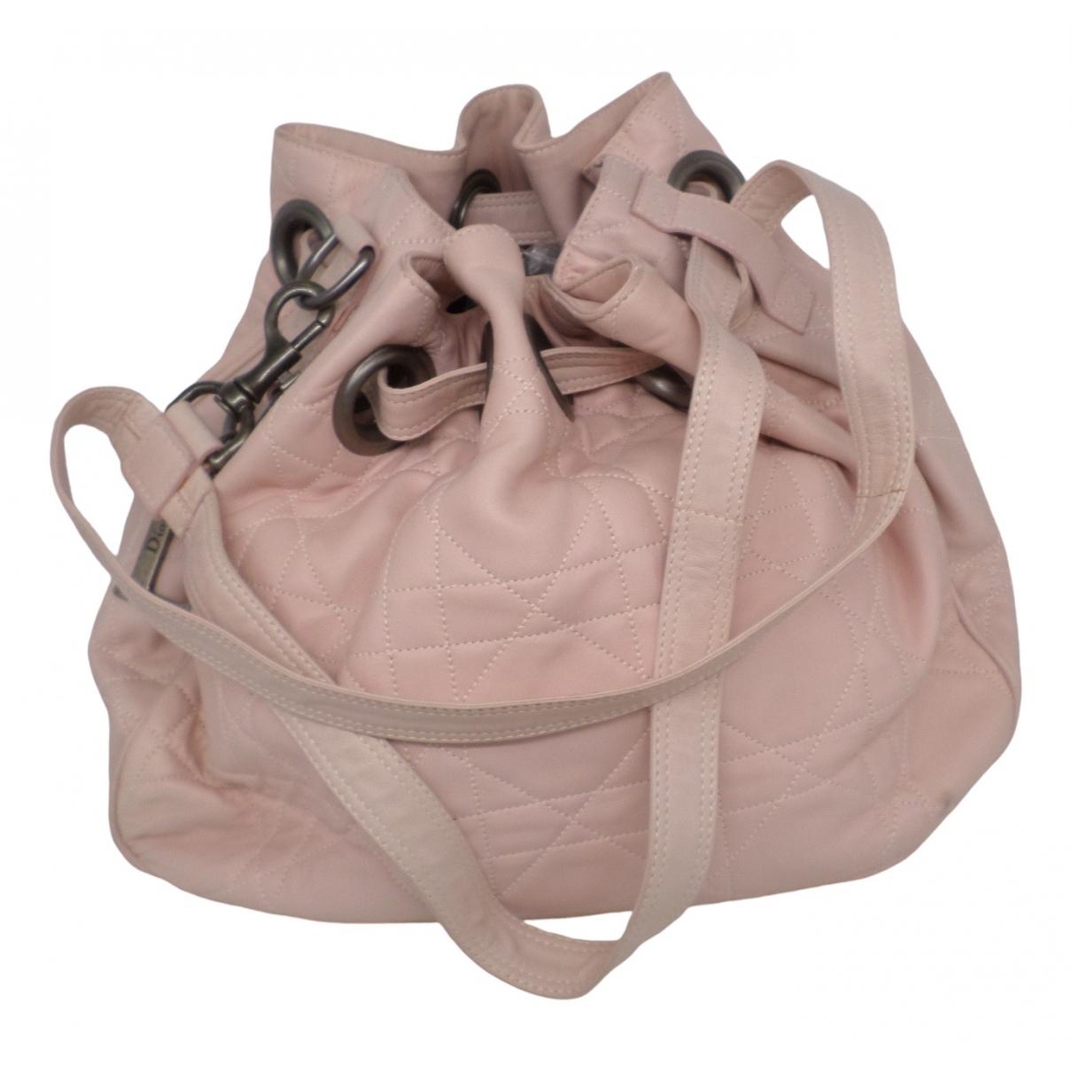 Dior - Sac a main   pour femme en cuir - rose