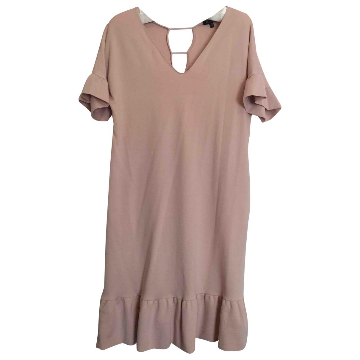 Massimo Dutti \N Pink Cotton - elasthane dress for Women M International