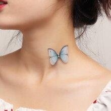 Butterfly Decor Choker