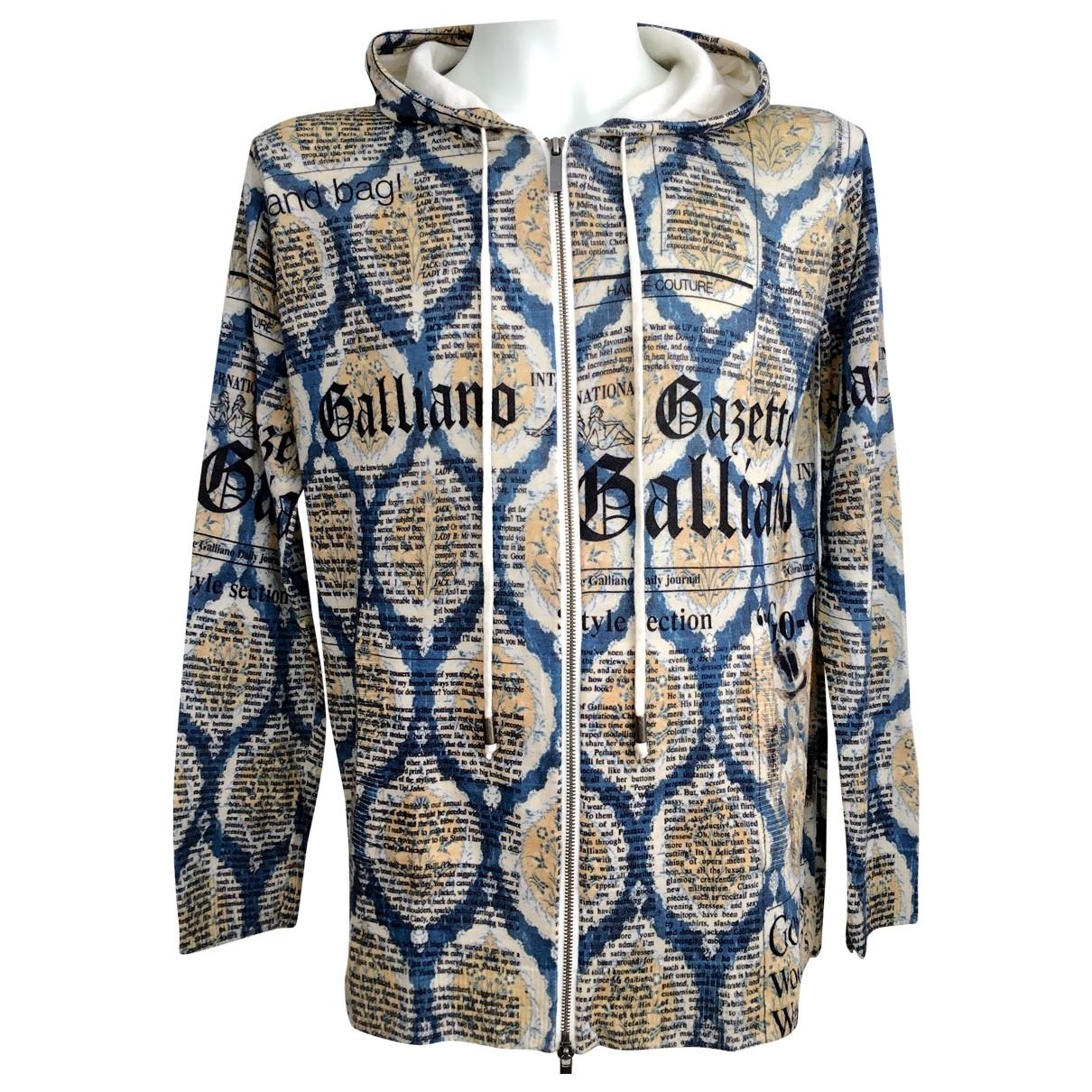 John Galliano \N Pullover.Westen.Sweatshirts  in  Bunt Wolle