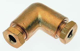 Norgren Pneumatic Elbow Tube-to-Tube Adapter (5)