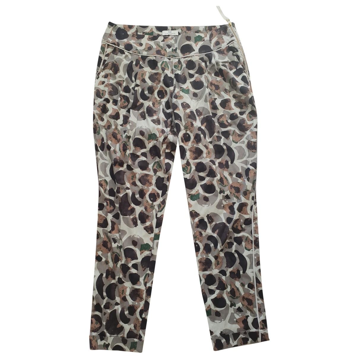 Day Birger & Mikkelsen \N Multicolour Trousers for Women 36 FR