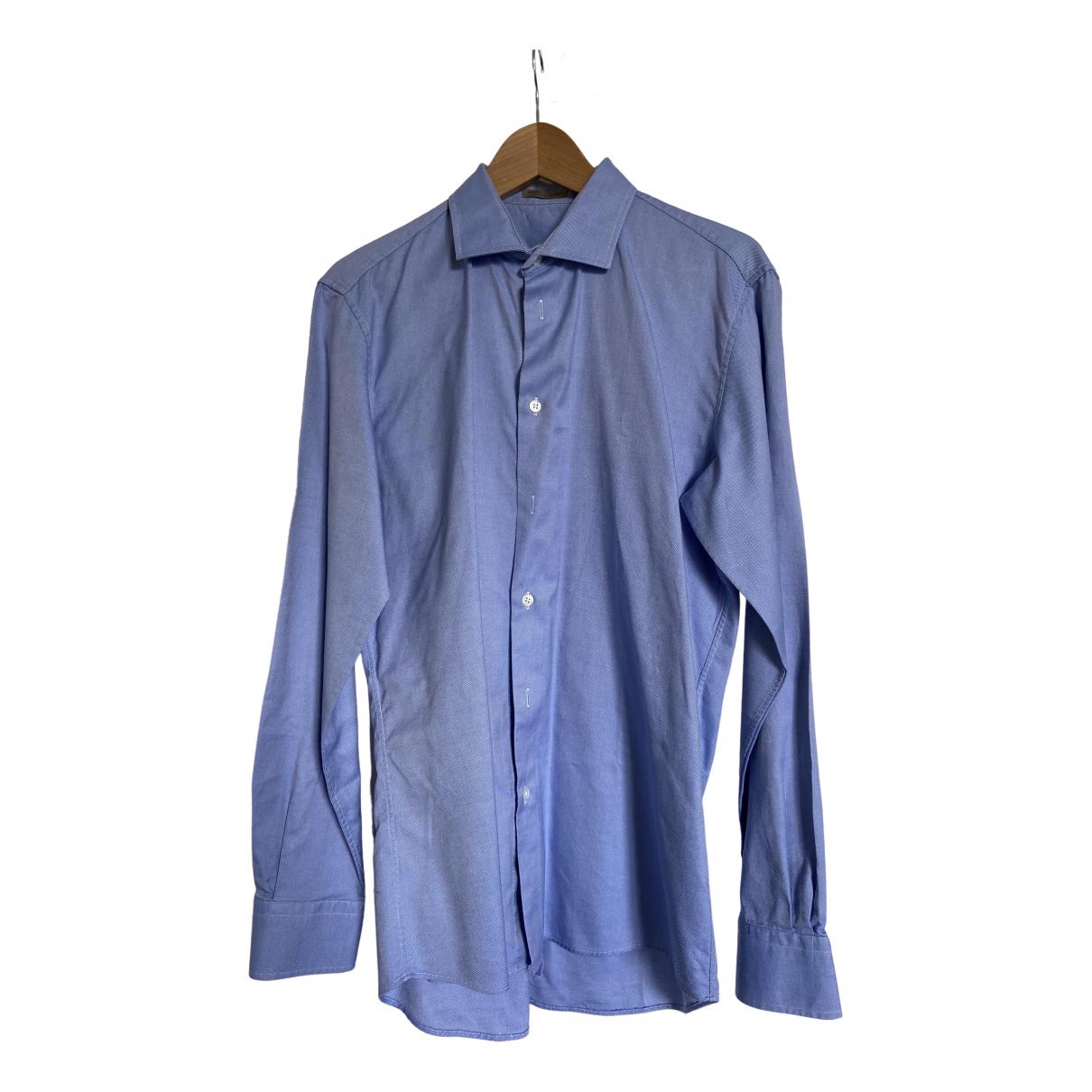 Bottega Veneta \N Hemden in  Blau Baumwolle