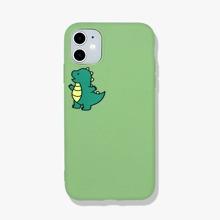 1 pieza funda de iphone con dinosaurio