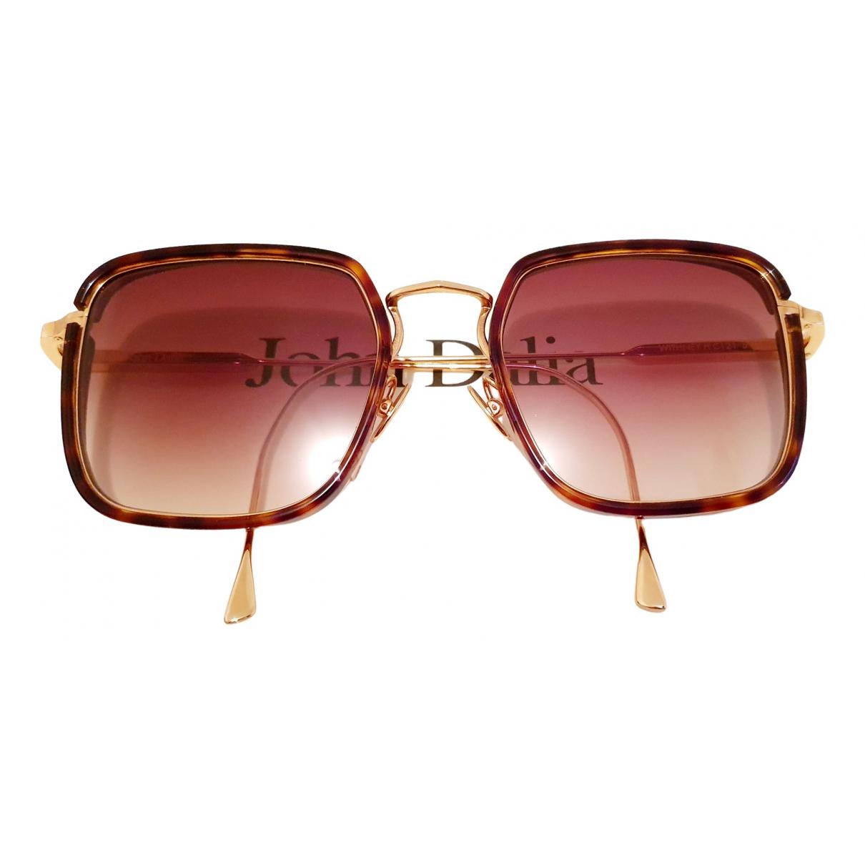 John Dalia \N Brown Sunglasses for Women \N