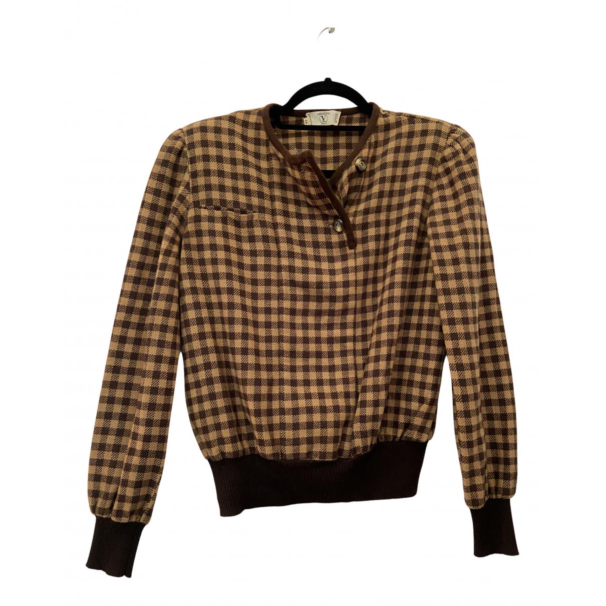 Valentino Garavani N Brown Knitwear for Women L International