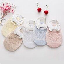 5 Paare Kleinkind Kinder atmungsaktive Socken