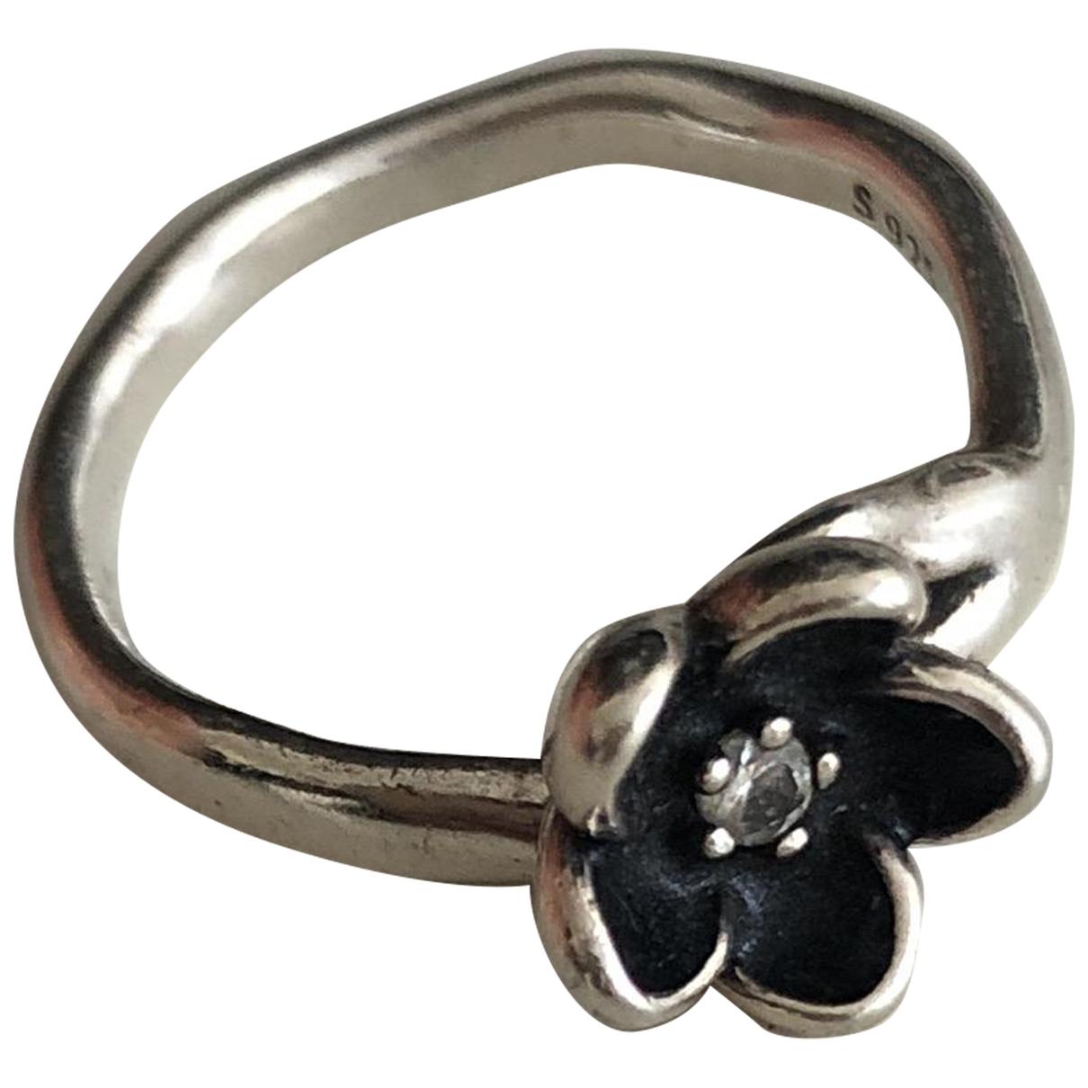 Pandora \N Silver Silver ring for Women \N