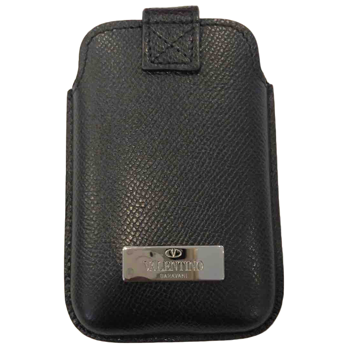 Valentino Garavani N Black Leather Purses, wallet & cases for Women N