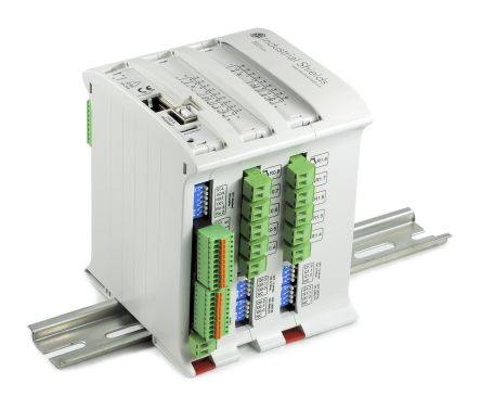Industrial Shields M-Duino PLC CPU - 8 Inputs, 22 Outputs, Ethernet, ModBus Networking, Computer Interface