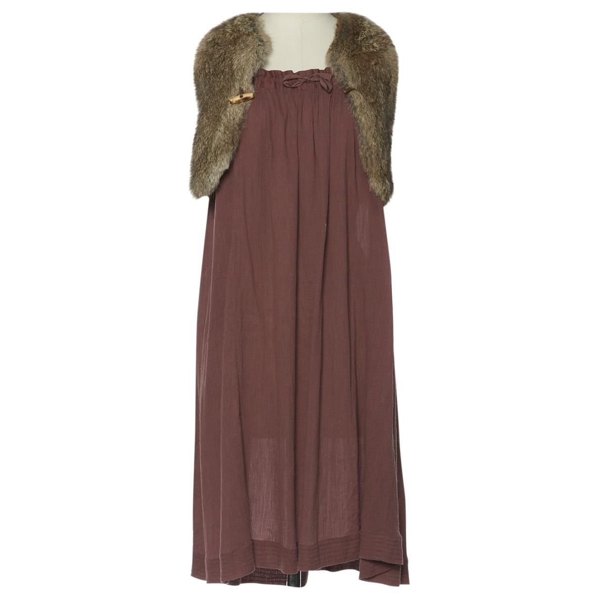 Bonpoint \N Kleid in  Lila Baumwolle