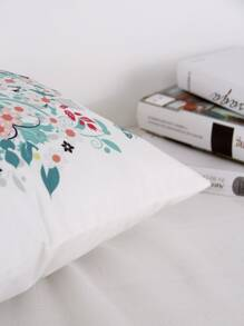1pc Tree Cushion Cover Without Filler