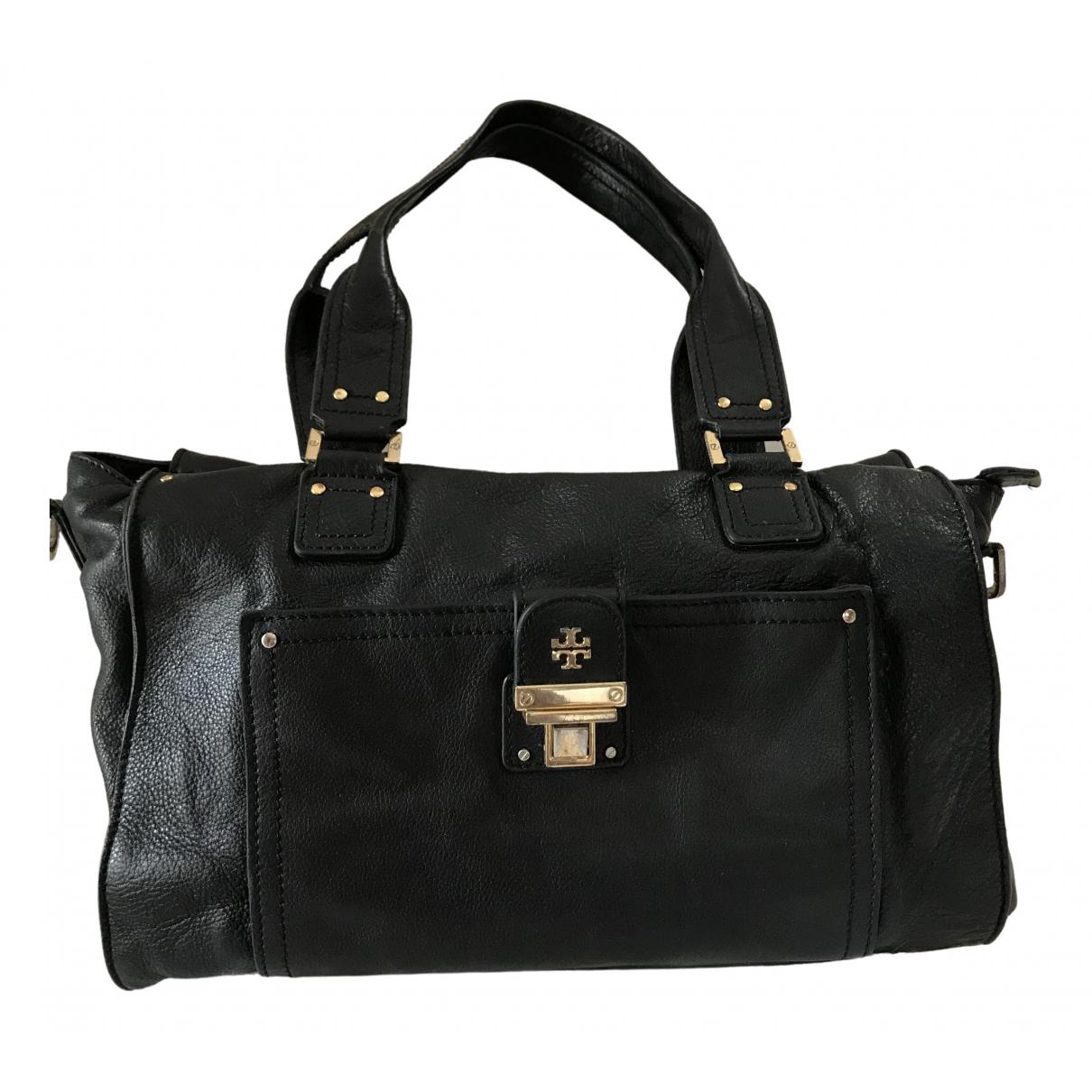 Tory Burch \N Black Leather handbag for Women \N