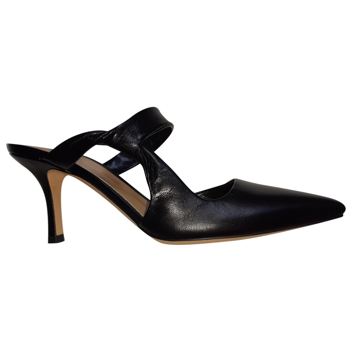 The Row \N Black Leather Sandals for Women 37 IT