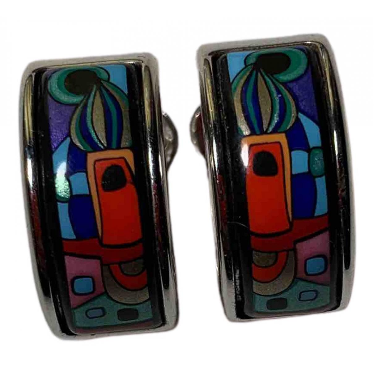 Frey Wille - Boucles doreilles   pour femme en plaque argent - multicolore