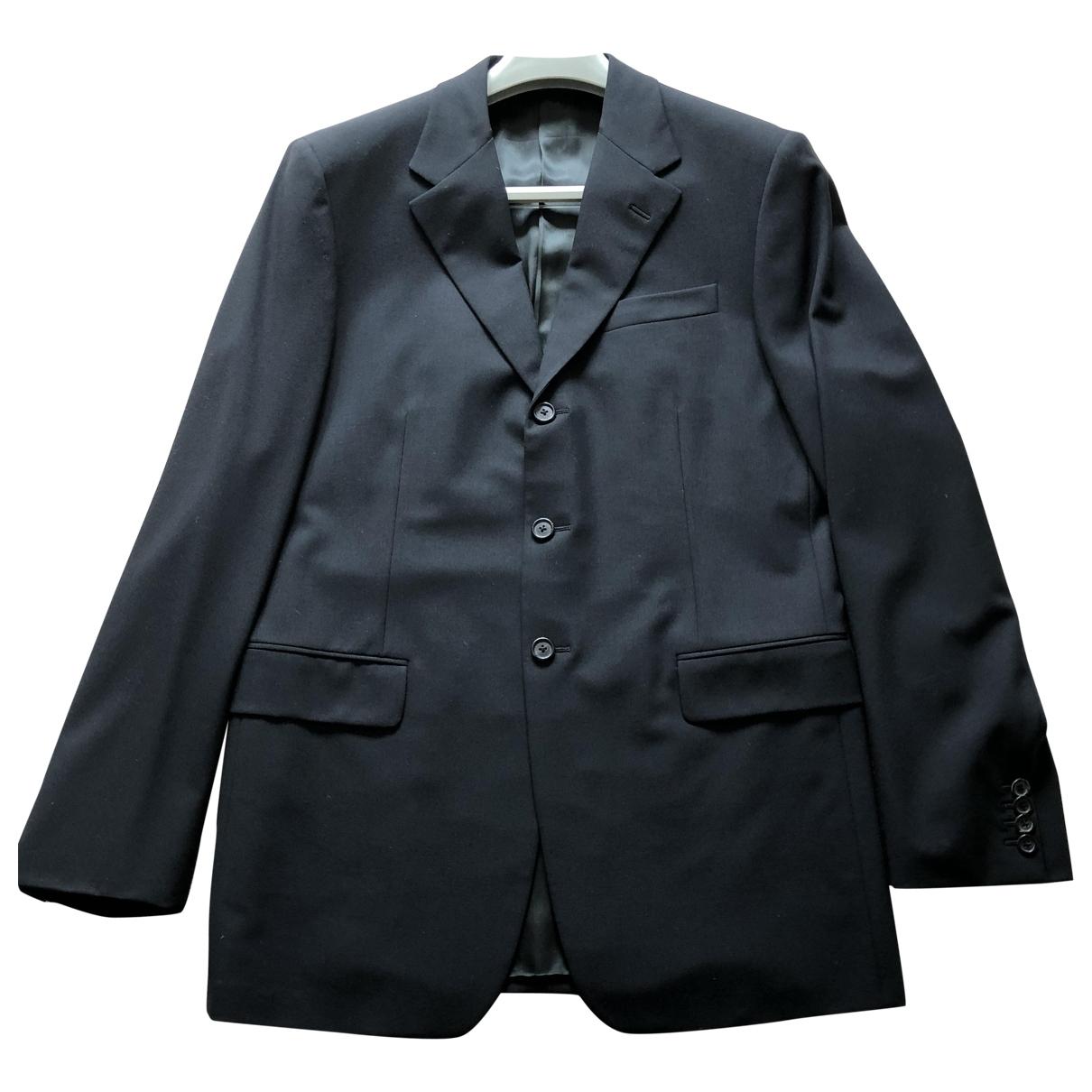 Prada \N Black Wool Suits for Men 50 IT