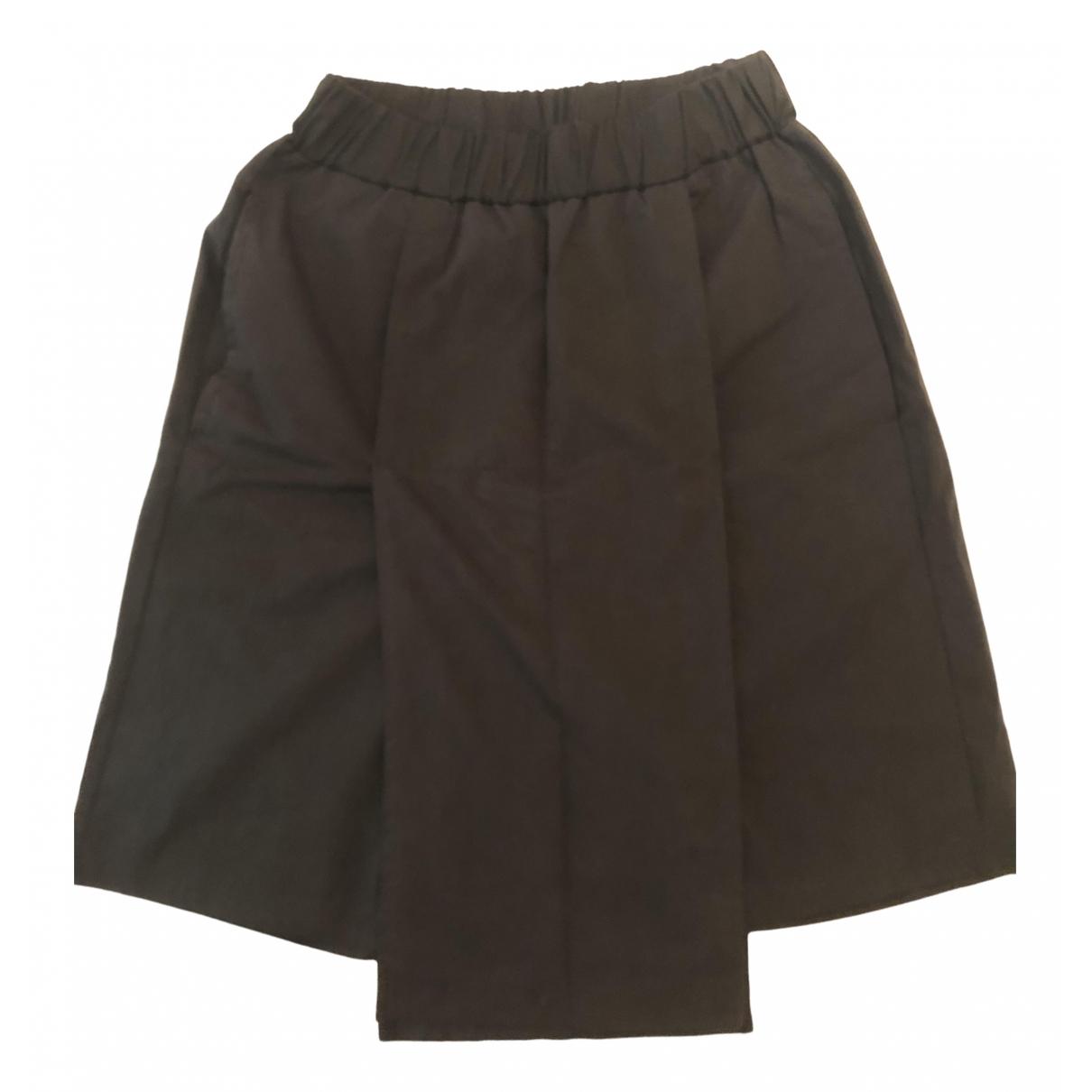 Non Signé / Unsigned \N Black Cotton Shorts for Men S International