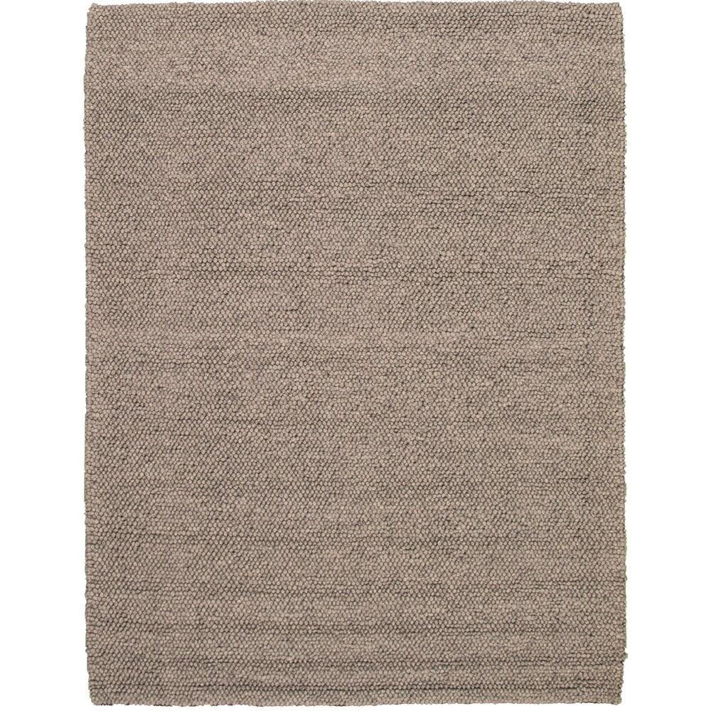 ECARPETGALLERY  Braid weave Sienna Grey Wool Rug - 6'6 x 9'7 (Grey - 6'6 x 9'7)