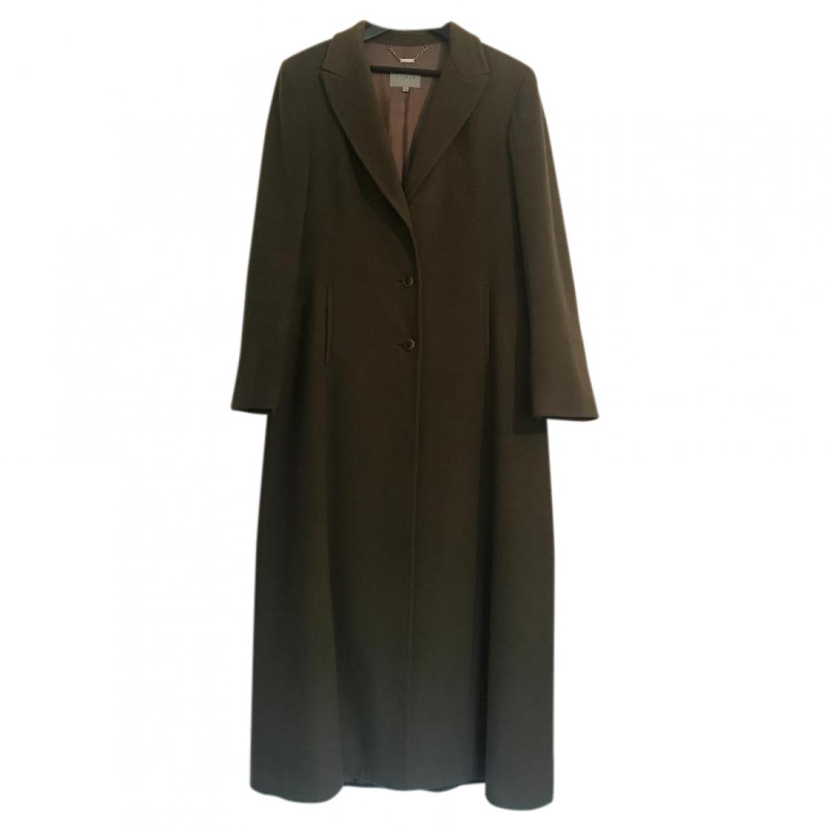 Jigsaw - Manteau   pour femme en laine - vert